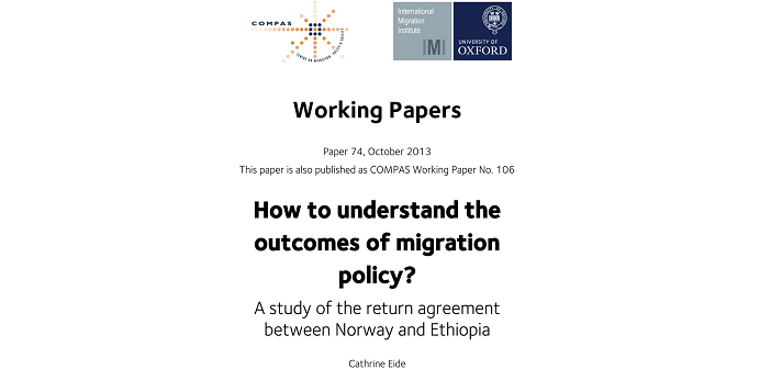 Understanding the outcomes of migration policies