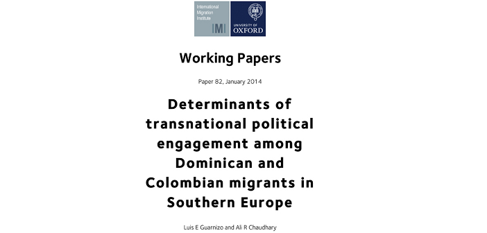 What determines migrants political engagement