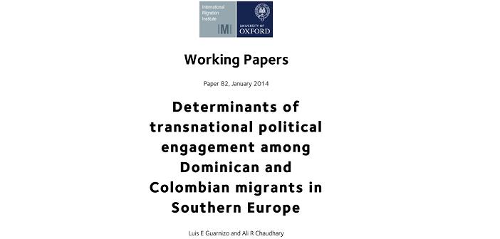 What determines migrants political engagement