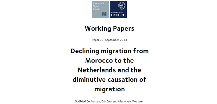 Explaining the decline in migration from morocco to the netherlands