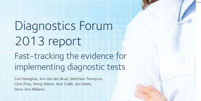 Fast tracking the evidence for implementing diagnostic tests