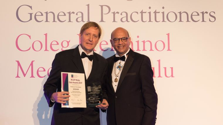 Chris butler named wales gp of the year