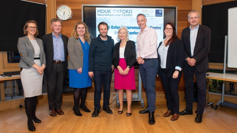 The launch of the MDUK Oxford Neuromuscular Centre marks an exciting new stage in the partnership between Muscular Dystrophy UK and the University of Oxford, with the goal of delivering new experimental medicines and developing enhanced clinical trial capacity in adult and paediatric neuromuscular diseases.