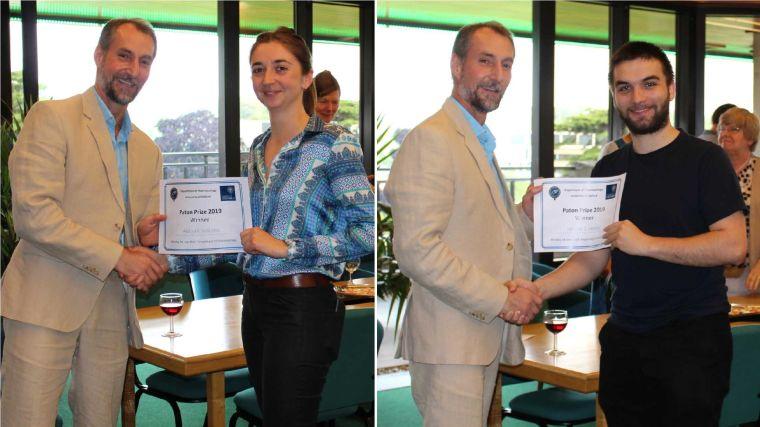 Abigail wilson and istvan lukacs win 2019 paton prize