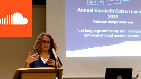 Let language not betray us immigration enforcement and modern slavery annual elizabeth colson lecture 2018