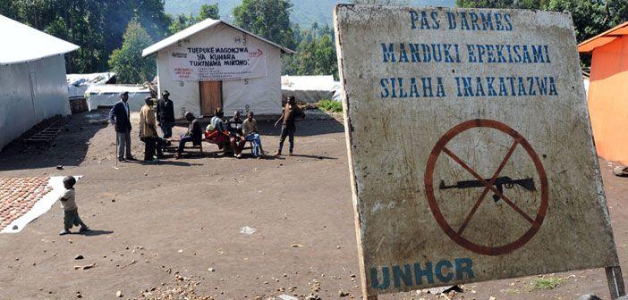 Kalinga IDP Camp in Masisi District, DRC