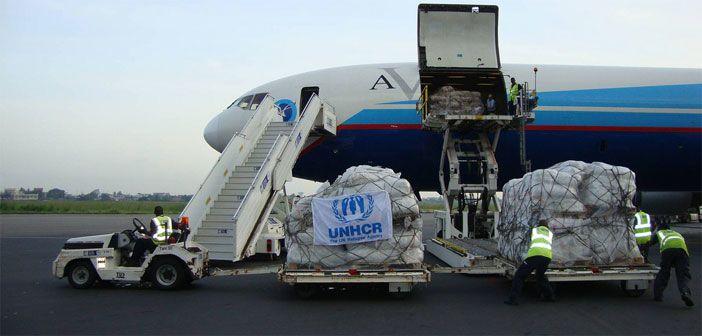 UNHCR emergency aid flight arrives in Benin