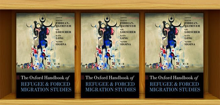Oxford handbook of refugee and forced migration studies now available