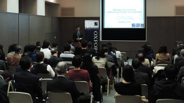 Dr naohiko omata challenges myths about refugees in japan