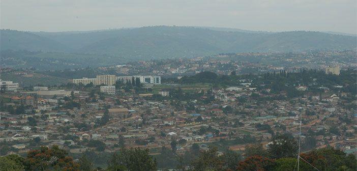 A view of Rwanda's capital, Kigali