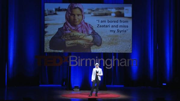 Refugees struggle with the same things we do dunya habash msc student