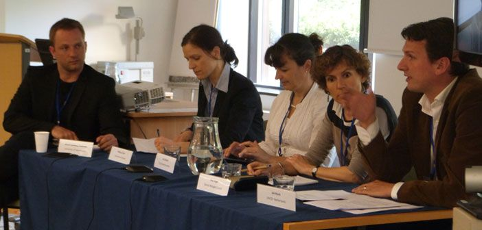 Panel discussion at the ERPUM workshop