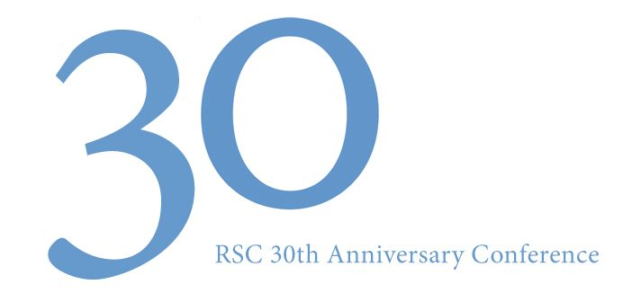 Call for papers rsc 30th anniversary conference