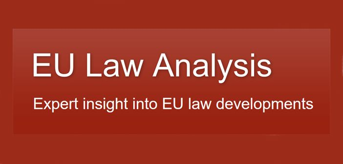 Eu law analysis