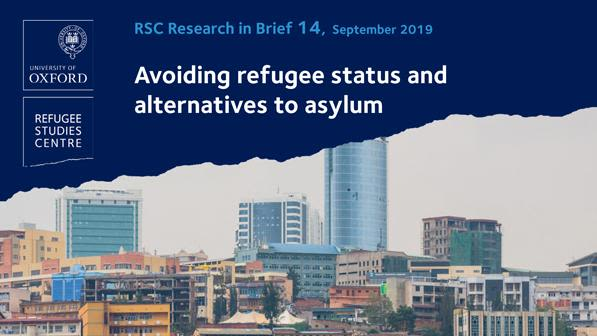 New research brief examines why people choose to avoid refugee status