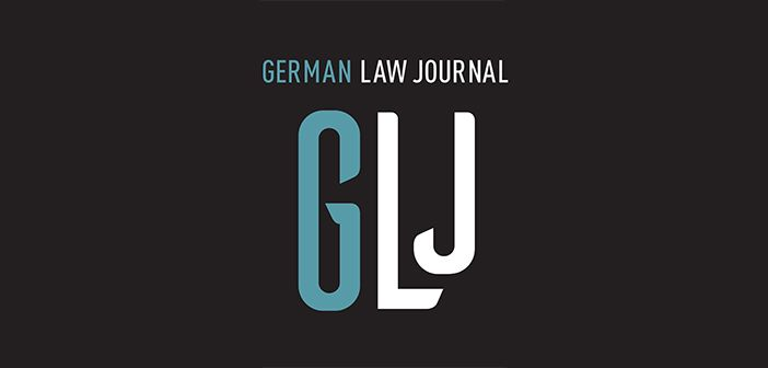 German Law Journal cover logo