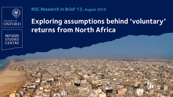 New research brief explores the assumptions behind voluntary returns from north africa