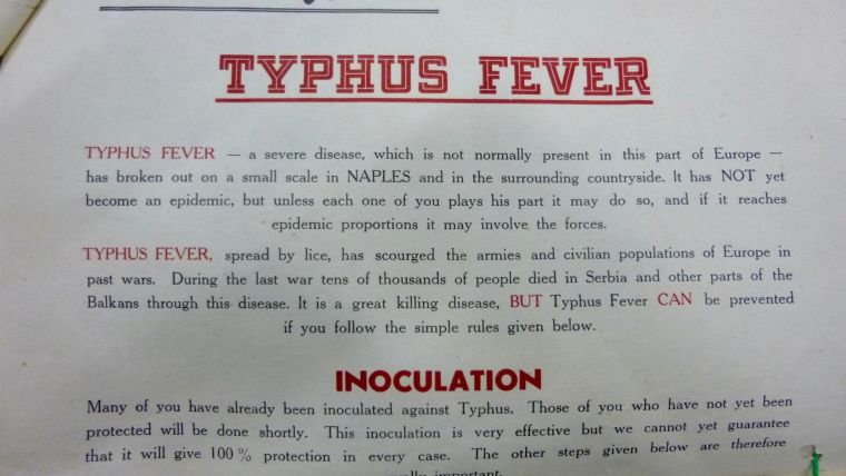Typhus in Naples, 1943-44: A Study in Vector Control