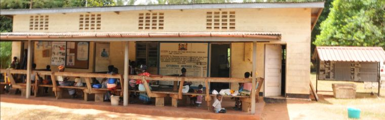 A clinic in Nairobi where some of the research by the Kemri-Wellcome Trust  Research Programme is undertaken.
