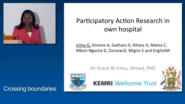 Grace Irimu: Participatory Action Research in own hospital