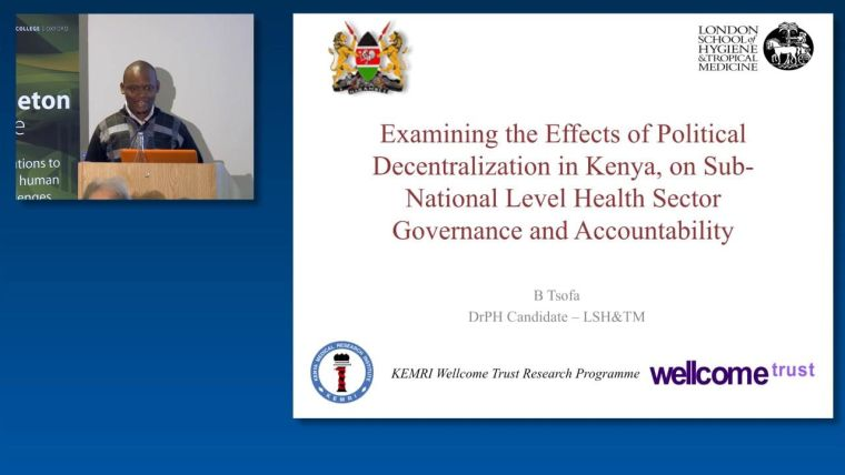 Ben Tsofa: Examining the Effects of Political Decentralization in Kenya, on Sub-National Level Health Sector Governance and Accountability