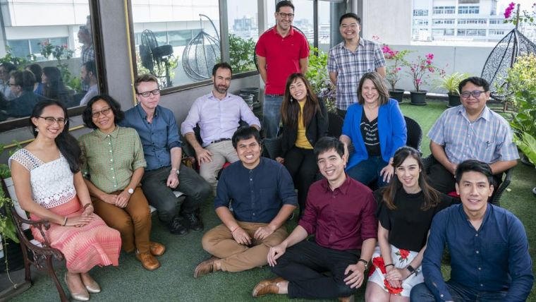 Group picture of the Mathematical and Economic Modelling group