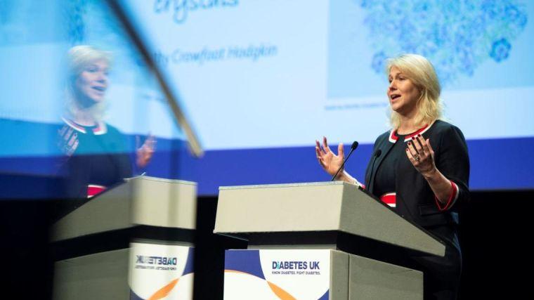 Anna gloyn gives diabetes uk dorothy hodgkin lecture