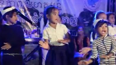 Using drama to fight malaria in rural cambodia