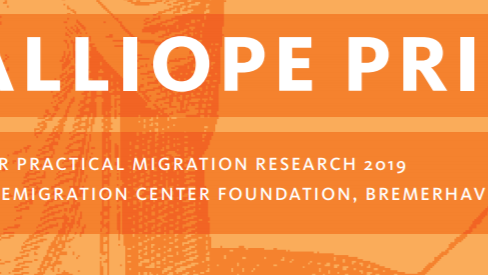 Call for application calliope prize for practical migration research