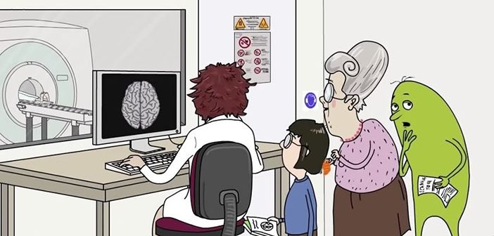 Functional Magnetic Resonance Imaging (fMRI) uses blood flow and oxygen metabolism to infer brain activity.