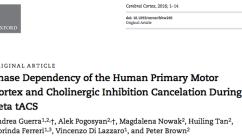 Published Paper: Cerebral Cortex