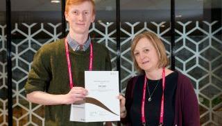 John Logan wins Rob Clarke Award