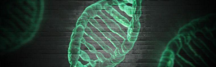 Digital render of DNA