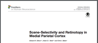 Published Paper: Frontiers in Human Neuroscience