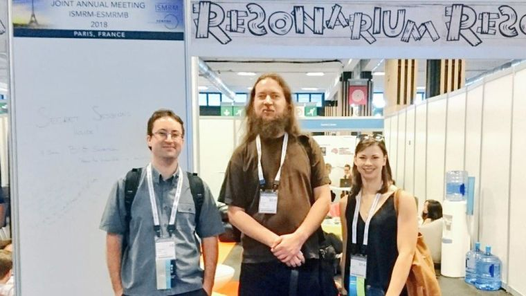 The Resonarium, sponsored by WIN, was a place for less formal sessions