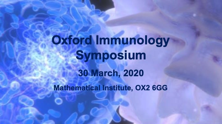 Oxford Immunology Symposium 2020 poster