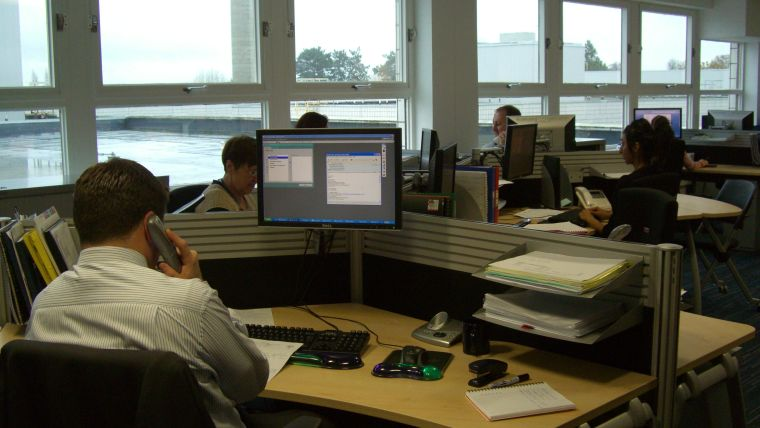 Administration Staff working in the Office