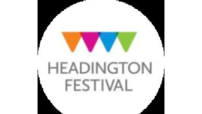 The logo of the Headington Festival