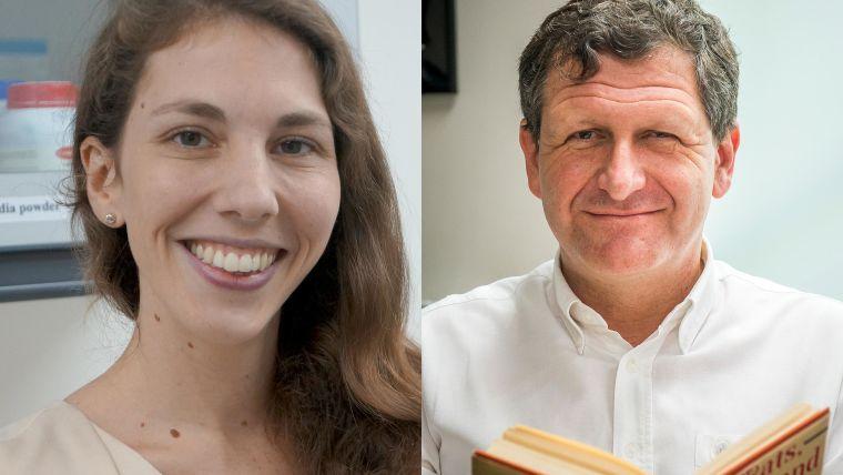 Dr Jeanne Salje and Professor Nick Day