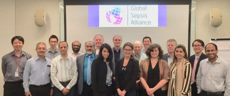 Group photo of the Sepsis Alliance