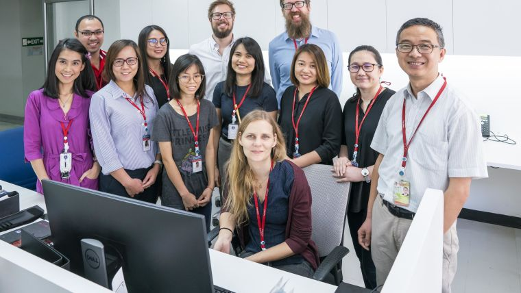 Group picture of the Pharmacometrics team