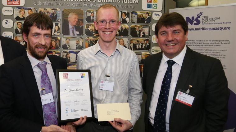 Stem for britain silver medal success for james larkin