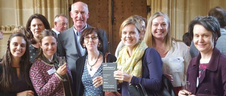 Green impact team silver award