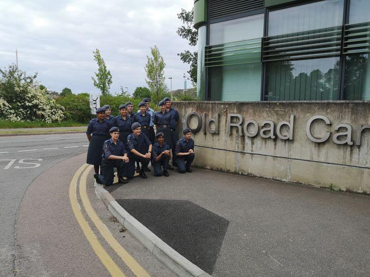 Cadets visit