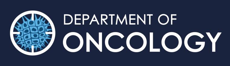Oncology logo blue