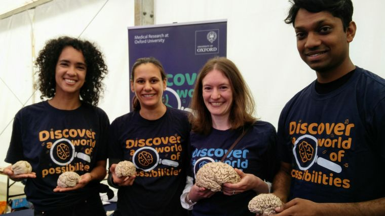 Public engagement and outreach are an important priority for the Paediatric Neuroimaging Group. We regularly attend science festivals, visit schools, and take part in science communication events.