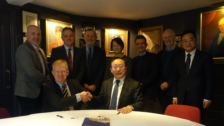 December 2016 saw the signing of the Letter of Intention in Oxford between CAMS and the Medical Sciences Division, Oxford.