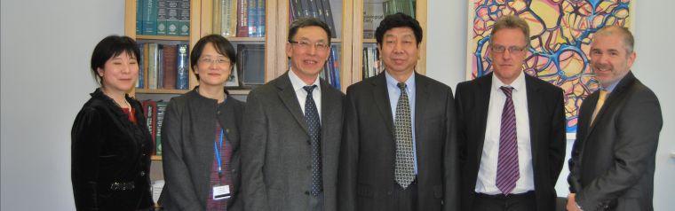 Xinjiang delegation in Oxford