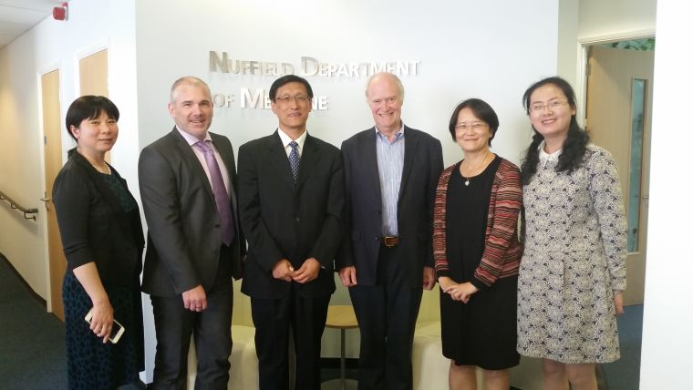 COI team in NDM offices