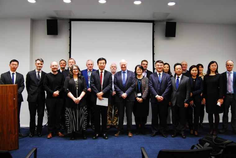 Members of CAMS and COI in Oxford University